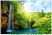 Tranh cảnh đẹp thiên nhiên thác nước AmiA 91680825