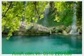 Tranh phong cảnh thiên nhiên đẹp thác nước AmiA 154903911