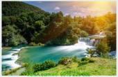 Tranh phong cảnh đẹp thác nước: AmiA 471481622