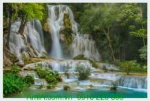 Tranh thác nước thiên nhiên tuyệt đẹp AmiA 619244254