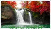 Tranh cảnh đẹp thác nước AmiA 624592382