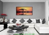 Tranh canvas phong cảnh thiên nhiên: Hoàng hôn AmiA 4121