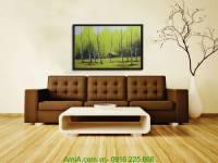 Tranh canvas phong cảnh đẹp: Tuyết yêu thương AmiA 4130