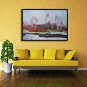 Tranh canvas phong cảnh mùa đông AmiA 4145