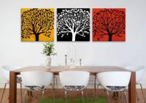 Tranh ghép bộ cây đời đa sắc AmiA 4172