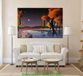 Tranh canvas nghệ thuật: Không gian AmiA 4188