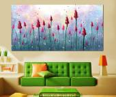 Tranh hoa nghệ thuật trang trí nội thất AmiA 4190