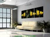 Tranh hoa tulip ghép bộ 3 tấm AmiA 1217