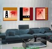 Tranh trang trí hoa nghệ thuật AmiA 1245