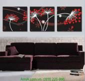 Tranh hoa nghệ thuật trang trí nội thất AmiA 1246