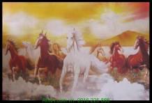Tranh in vải canvas bát mã truy phong AmiA 4200
