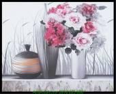 Tranh canvas nghệ thuật binh hoa hồng AmiA 4215