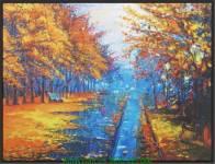 Tranh canvas thiên nhiên mùa thu AmiA 4228