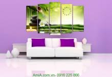 Tranh trang trí spa không gian thư thái AmiA 1269