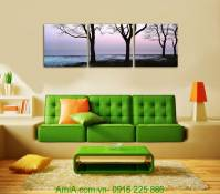 Tranh canvas phong cảnh thiên nhiên tĩnh lặng AmiA 4246