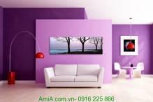 Tranh canvas một tấm phong cảnh đẹp thiên nhiên AmiA 4247