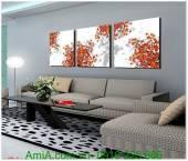 Tranh ghép bộ cây lá mùa thu AmiA 1314