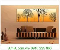 Tranh phong cảnh cây đời mùa Thu AmiA 1315