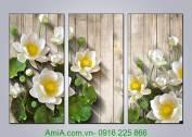 Tranh-hoa-sen-3D-treo-tuong-hop-phong-thuy-AmiA-1330