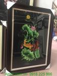 Tranh thêu tay cao cấp: Song Ngư và Hoa Sen TTH 198