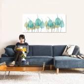 Tranh chiếc lá Xray nghệ thuật nhẹ nhàng tinh tế AmiA 1380