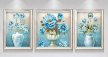 Tranh bình hoa cổ điển treo tường: Bình An AmiA 1394