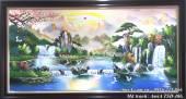 Tranh sơn dầu treo tường sơn thủy AmiA TSD 406