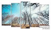 Tranh rừng cây vươn lên tràn sức sống Amia 1465