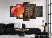 Bộ tranh tượng Phật treo tường nghệ thuật AmiA 1511