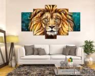 Tranh treo tường ghép bộ vua sư tử AmiA 1519