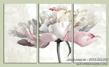 Tranh bông hoa giả sơn dầu nghệ thuật AmiA 1529