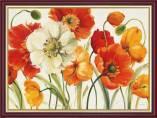 Tranh khung treo tường hoa poppy khổ nhỏ AmiA 2072