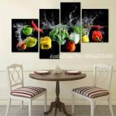 Tranh hoa quả Amia 1585 treo tường phòng ăn hiện đại
