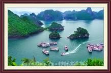 Tranh phong cảnh Vịnh Hạ Long AmiA 1668