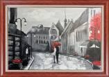Tranh sơn dầu đường phố nước ngoài TSD 466