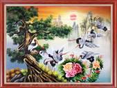 Tranh-son-dau-tung-hac-dien-nien-treo-tuong-y-nghia-TSD-529