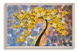 Tranh canvas cây mai vàng nghệ thuật AmiA 1747