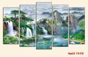 Tranh-thac-nuoc-treo-tuong-ghep-bo-5-tam-AmiA-1810