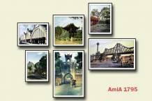 Bộ tranh chủ đề phố cổ Hà Nội đẹp treo tường AmiA 1795