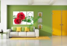 10 mẫu tranh đẹp hợp treo phòng khách nhà chung cư - phần 3