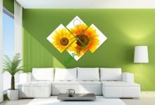 20 mẫu tranh đẹp hợp treo phòng khách nhà chung cư - phần 9