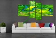 10 mẫu tranh đẹp hợp treo phòng khách nhà chung cư - phần 5