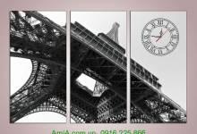 5 mẫu tranh tháp eiffel được yêu thích nhất trang trí nhà ph