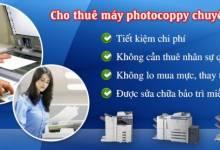 Thuê máy photocopy hay lựa chọn mua máy
