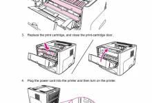 Cách thay hộp mực máy in và cách xử lý thông thường dành cho người dùng