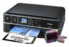 Máy in cũ màu Epson 802A có thể in Wifi