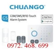 Hệ thống báo trộm không dây dùng SIM CHUANGO CG-G5