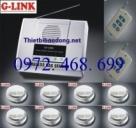 Trung tâm báo khói không dây G-LINK BK-8S168