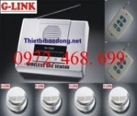 Trung tâm báo khói không dây G-LINK BK-4S168