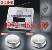 Trung tâm báo khói không dây G-LINK BK-2S168